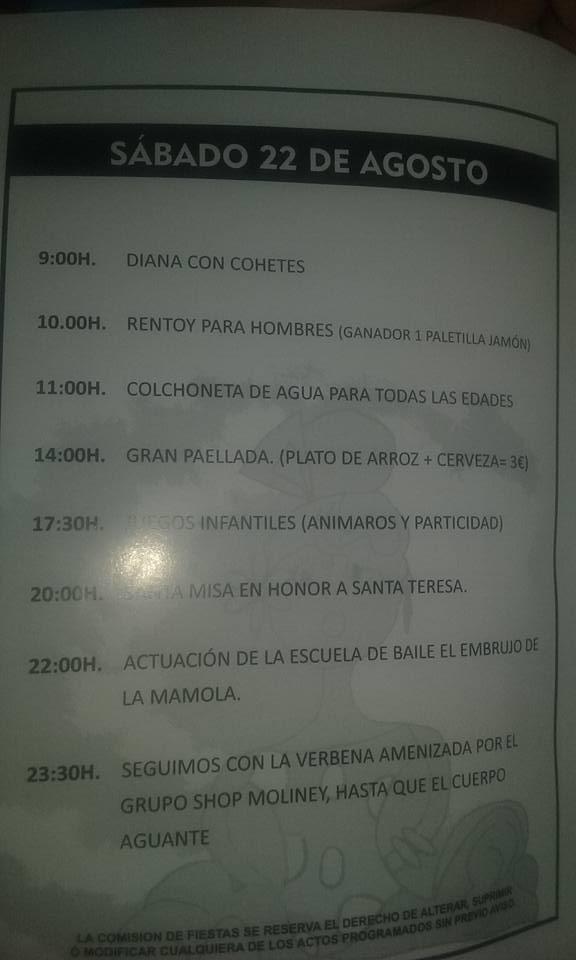 Fiestas de La Guapa 2015 2