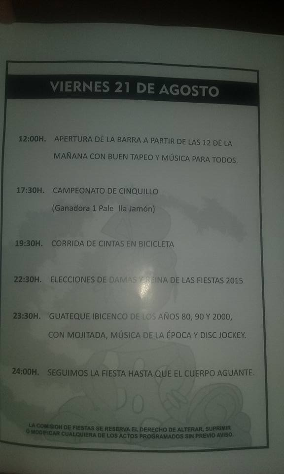 Fiestas de La Guapa 2015 1