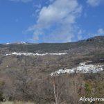 Vistas de Capileira y Bubión desde el pueblo de Pampaneira